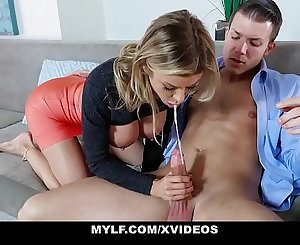 MYLF - College Prep Cougar Alexis Fawx Fucks A Lucky Stud