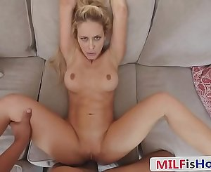 Sexy Stepmom Blackmailed Into One More Fuck - Cherie Deville