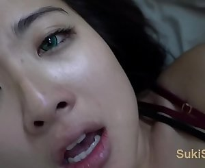 Green EYES Asian moans @Andregotbars POV will make you CUM wmaf amateur duo